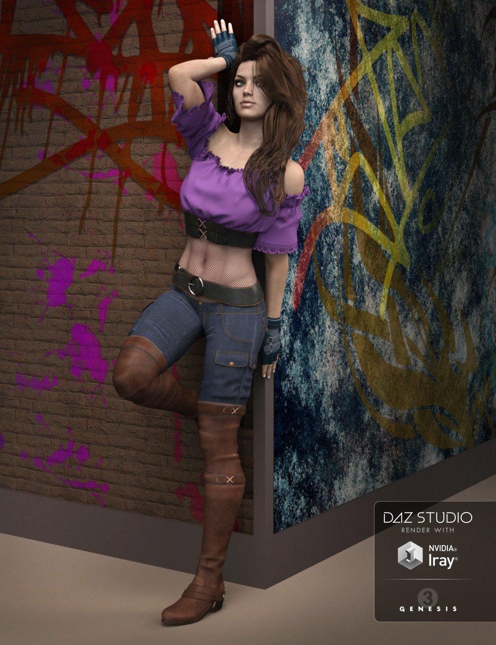 Club Princess for Genesis 3 Female(s) by: zoro_d, 3D Models by Daz 3D