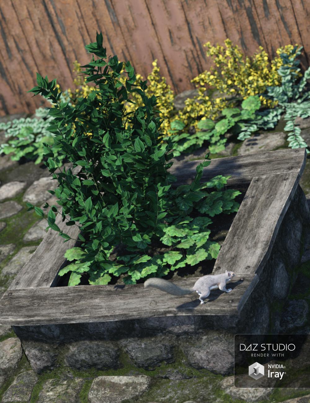 Garden Block by: vikike176, 3D Models by Daz 3D