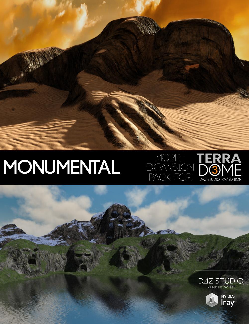 Monumental for TerraDome 3 by: MortemVetus, 3D Models by Daz 3D