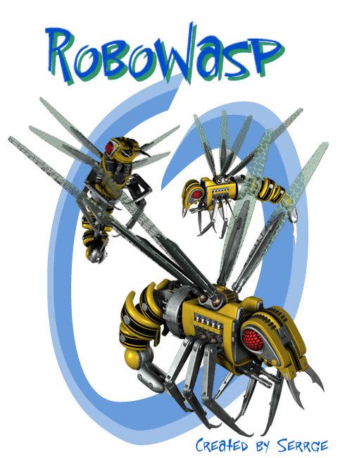 RoboWasp by: , 3D Models by Daz 3D