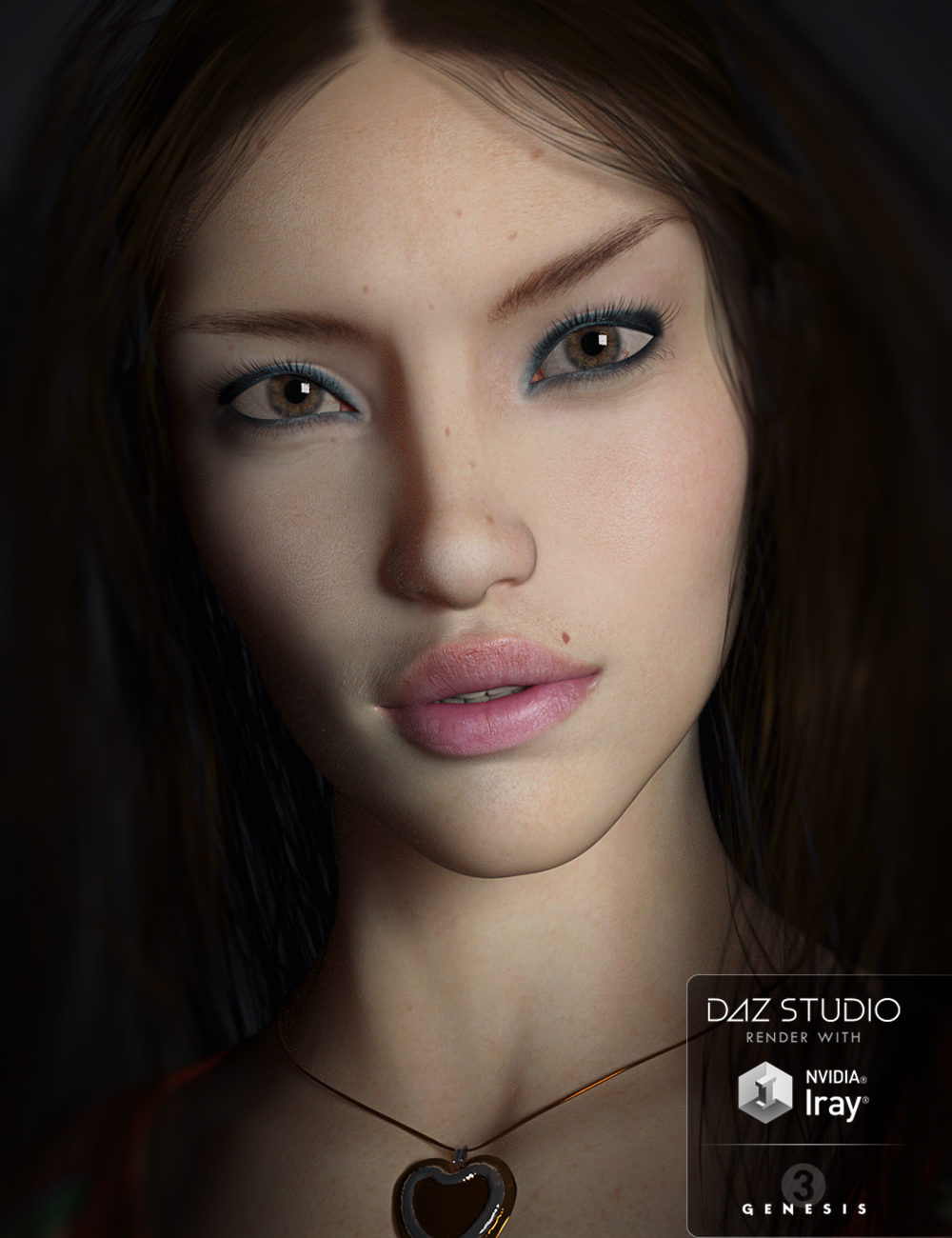 SC Laurana for Genesis 3 Female by: Second-Circle, 3D Models by Daz 3D