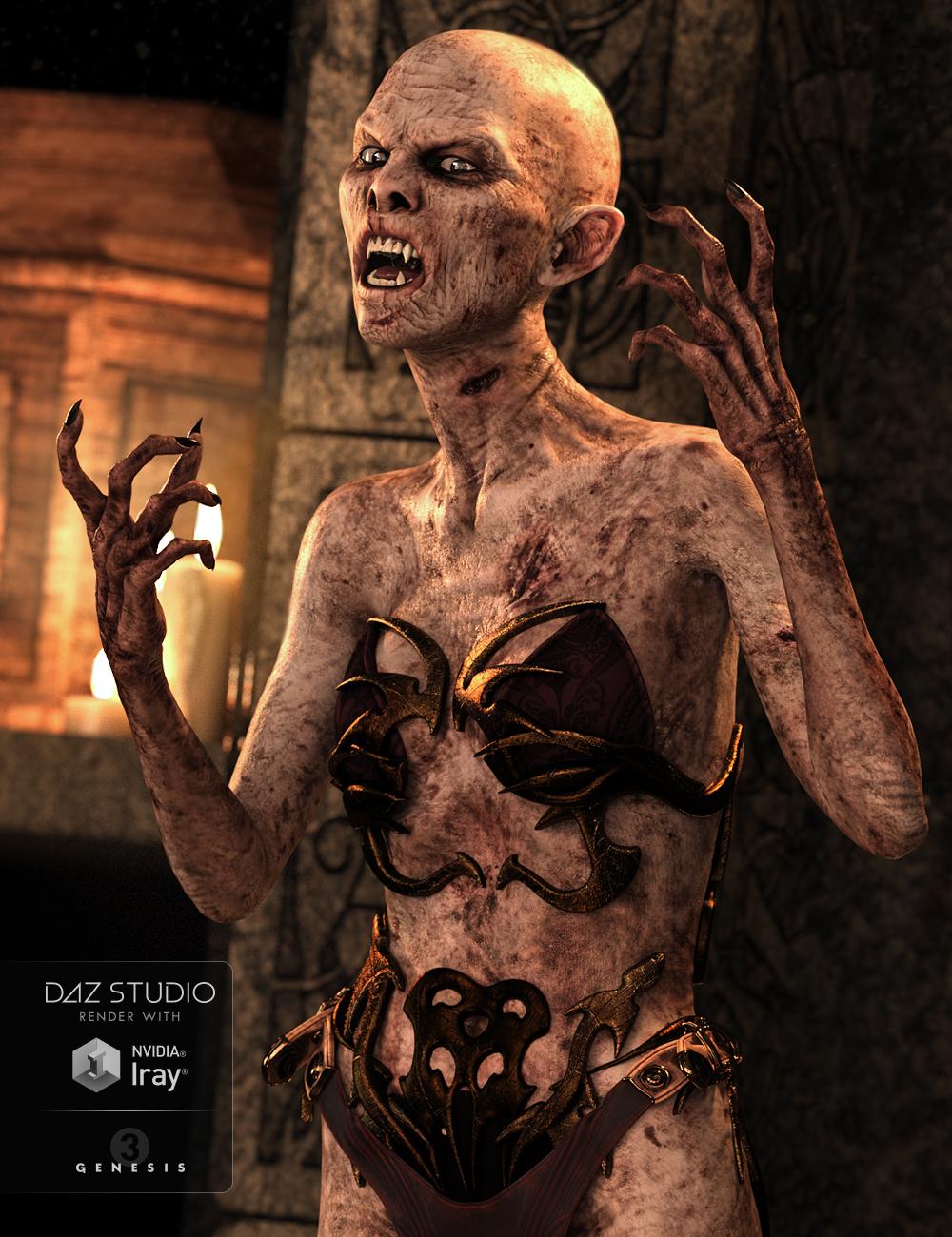 Lavinia Vampire for Genesis 3 Female(s) by: , 3D Models by Daz 3D