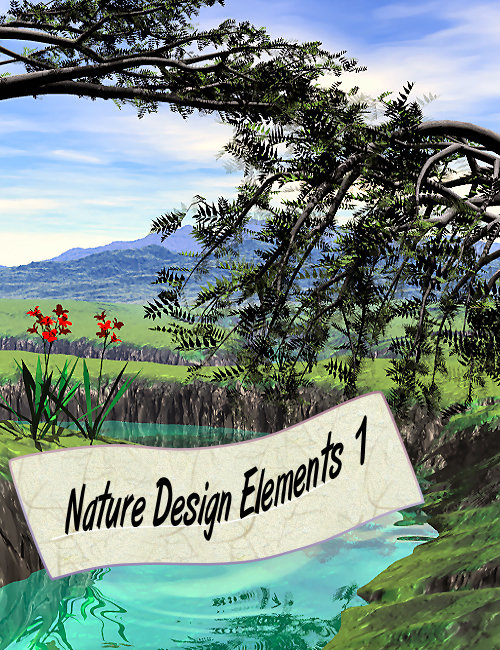 Nature Design Elements 1 by: the3dwizard, 3D Models by Daz 3D