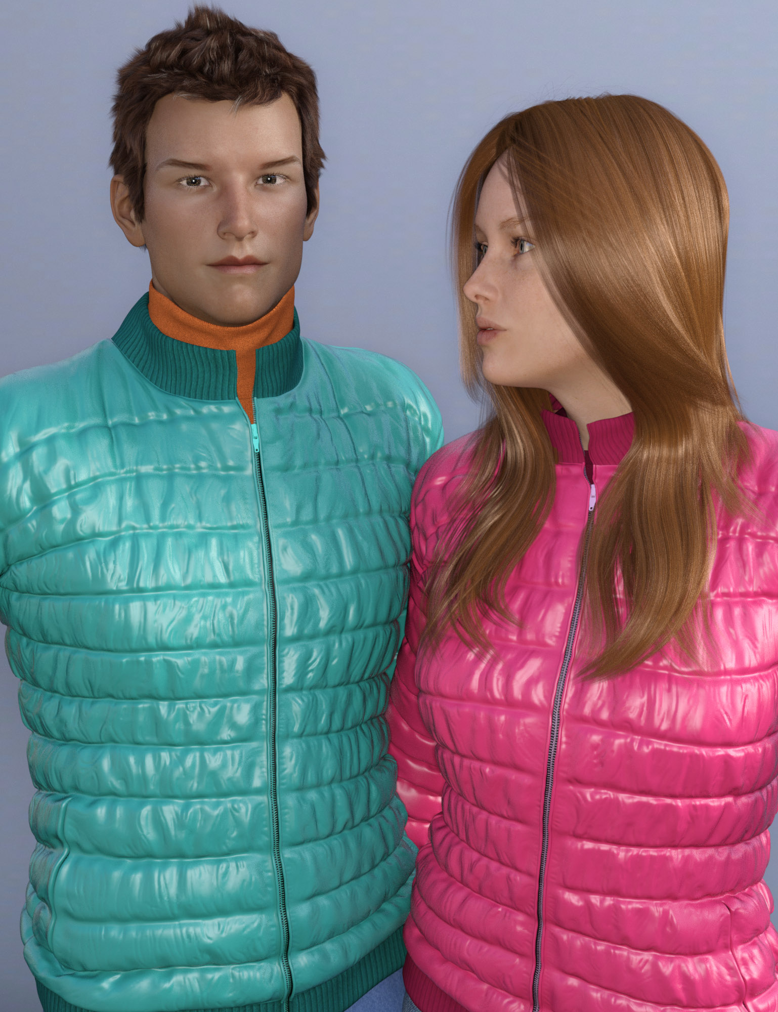 Autumn Jackets for Genesis 3 Male(s) and Female(s) by: Oskarsson, 3D Models by Daz 3D