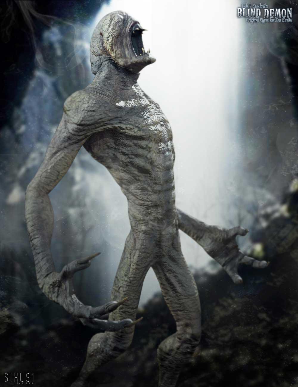 Blind Demon by: Sixus1 MediaJosh Crockett, 3D Models by Daz 3D