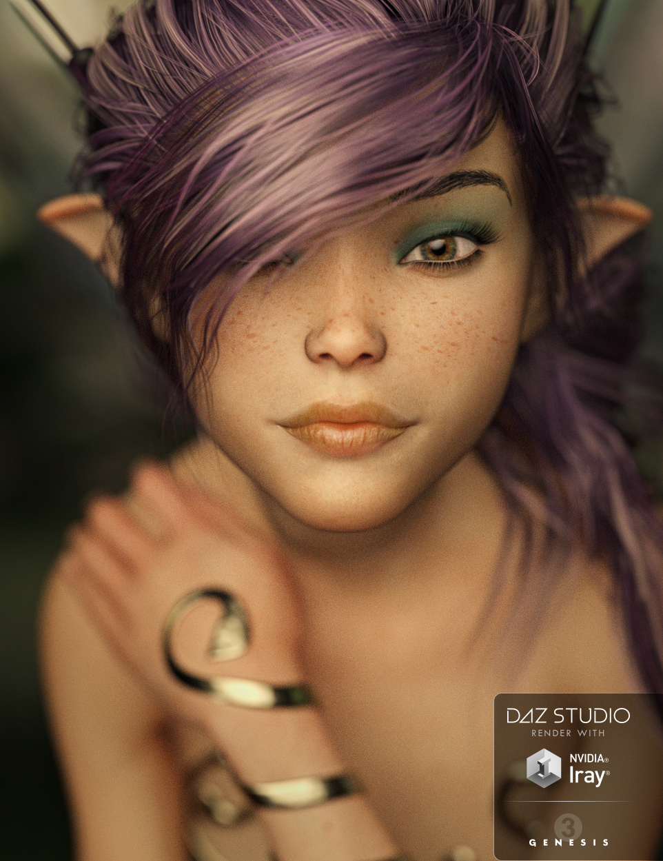 SC Alieta Spryte for Genesis 3 Female by: Second-Circle, 3D Models by Daz 3D