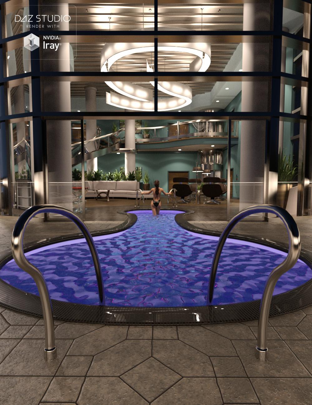 Penthouse Suite Level 1 by: Dumor3D, 3D Models by Daz 3D