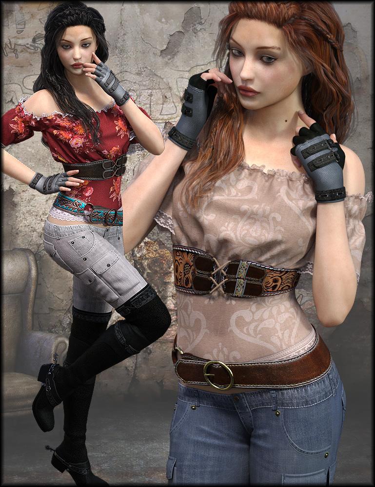 Club Princess Textures by: Shox-Design, 3D Models by Daz 3D