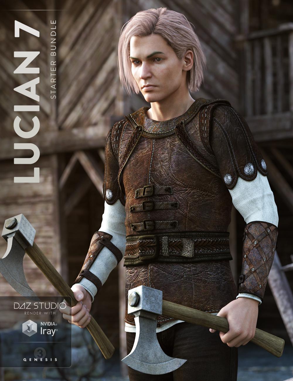 Lucian 7 Starter Bundle by: , 3D Models by Daz 3D