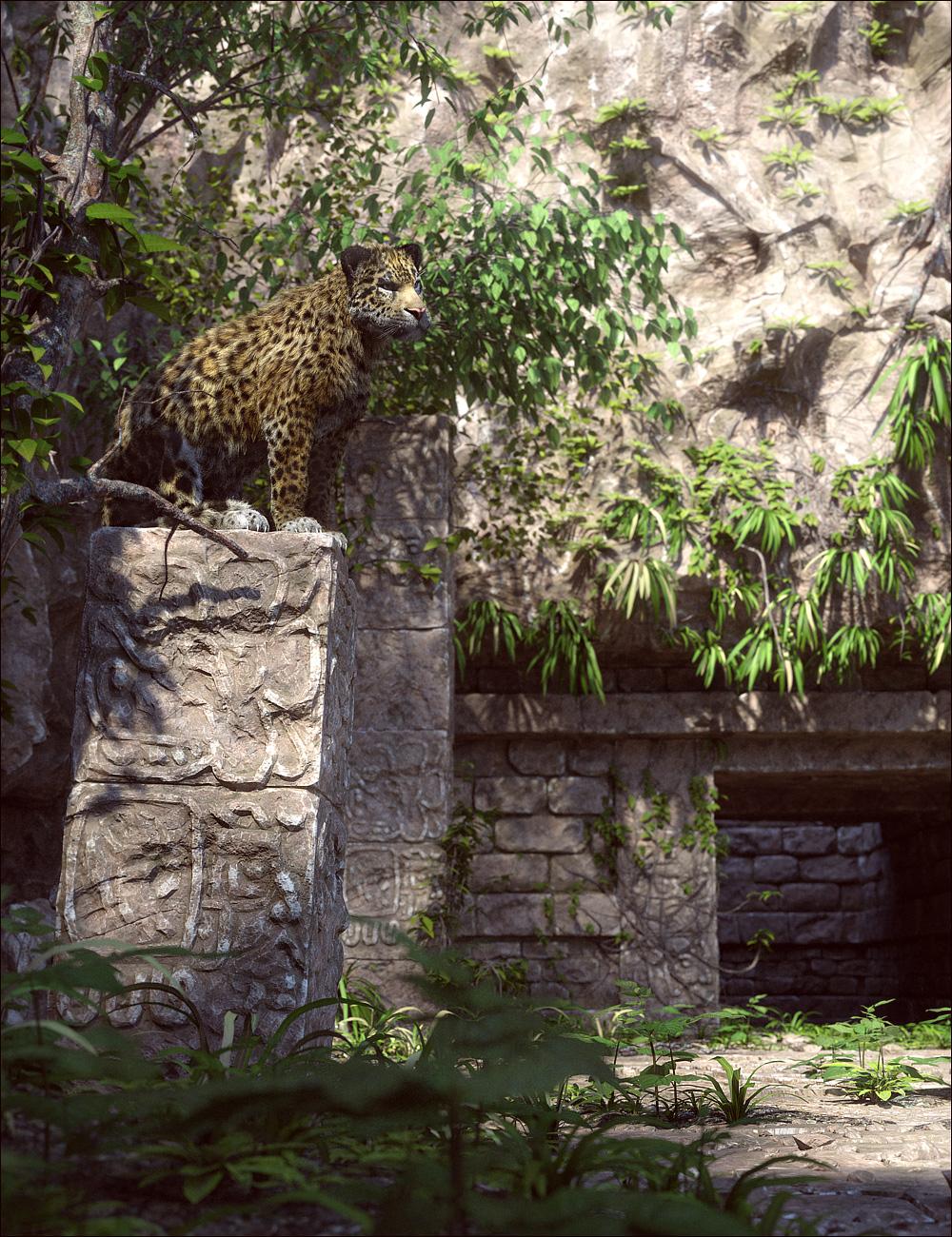Mayan Ruins by: Stonemason, 3D Models by Daz 3D