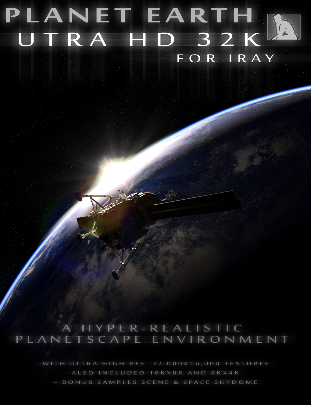 Planet Earth UTRA HD 32K for Iray by: ThePhilosopher, 3D Models by Daz 3D