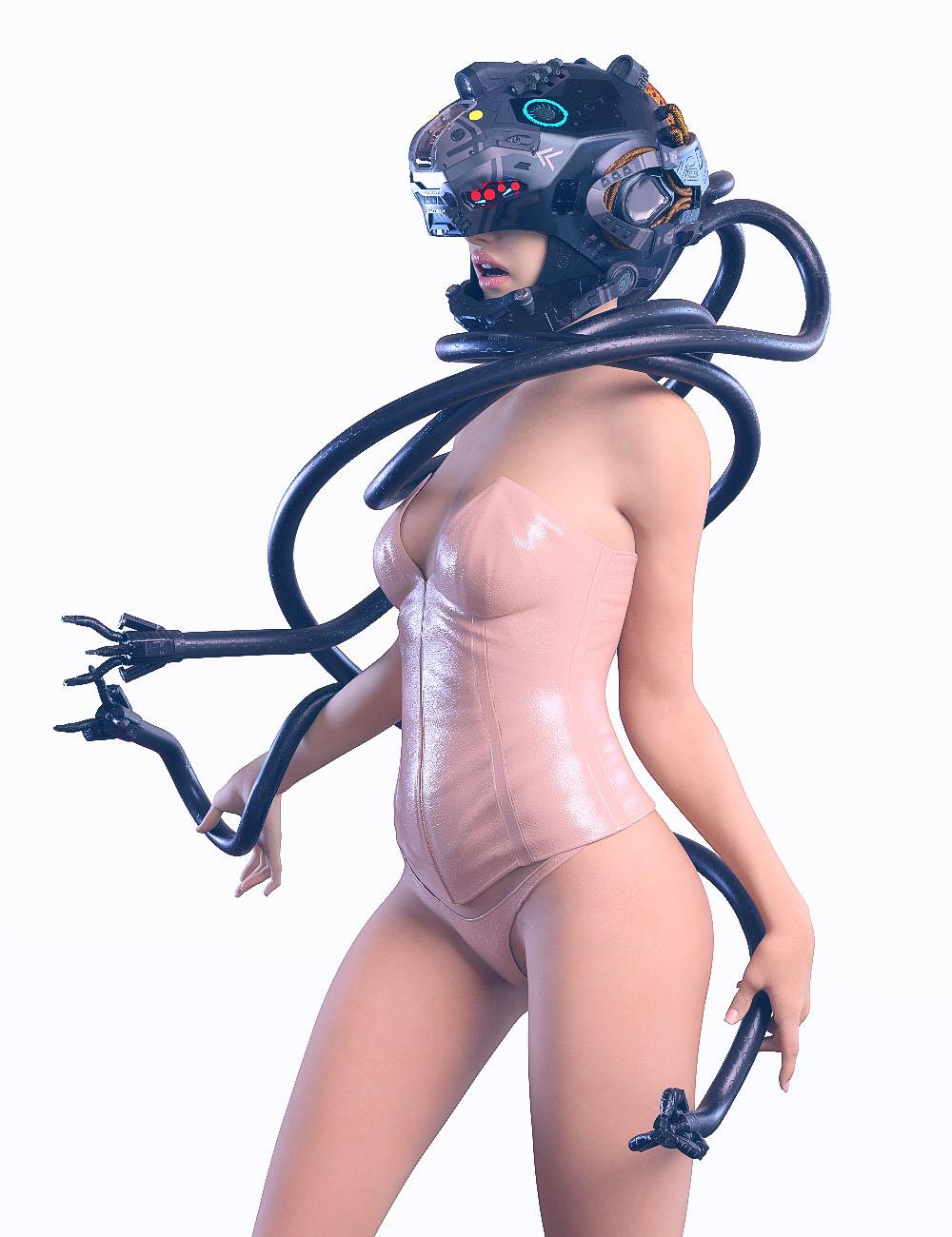 SciFi Medusa by: chungdan, 3D Models by Daz 3D