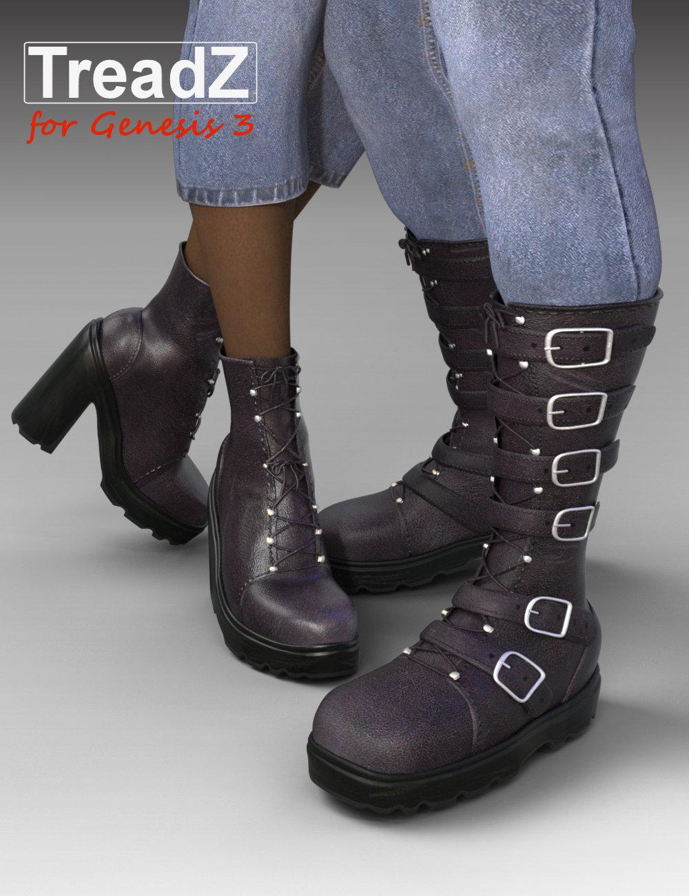 TreadZ for Genesis 3 by: Daz Originalsthe3dwizard, 3D Models by Daz 3D