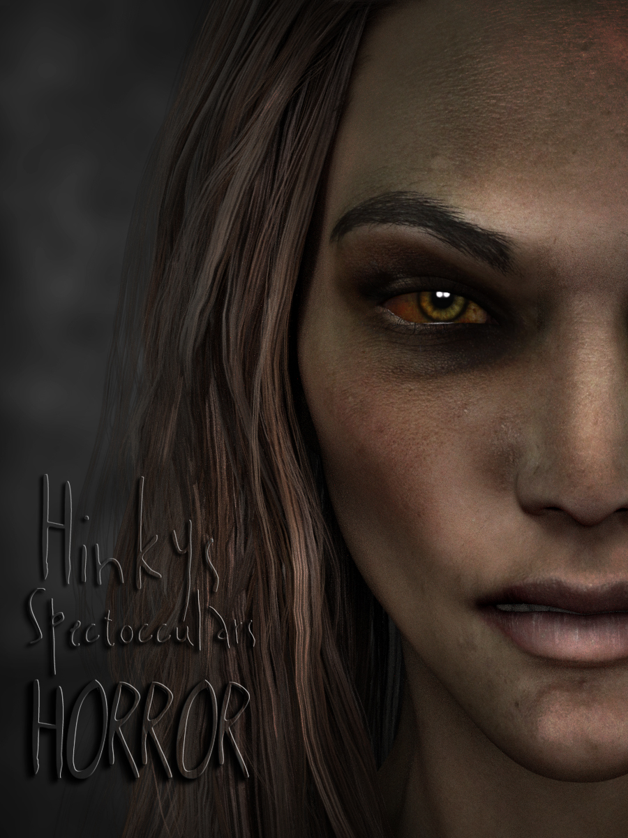 Hinky's Spect-Occulars-Horror Eyes by: SR3, 3D Models by Daz 3D