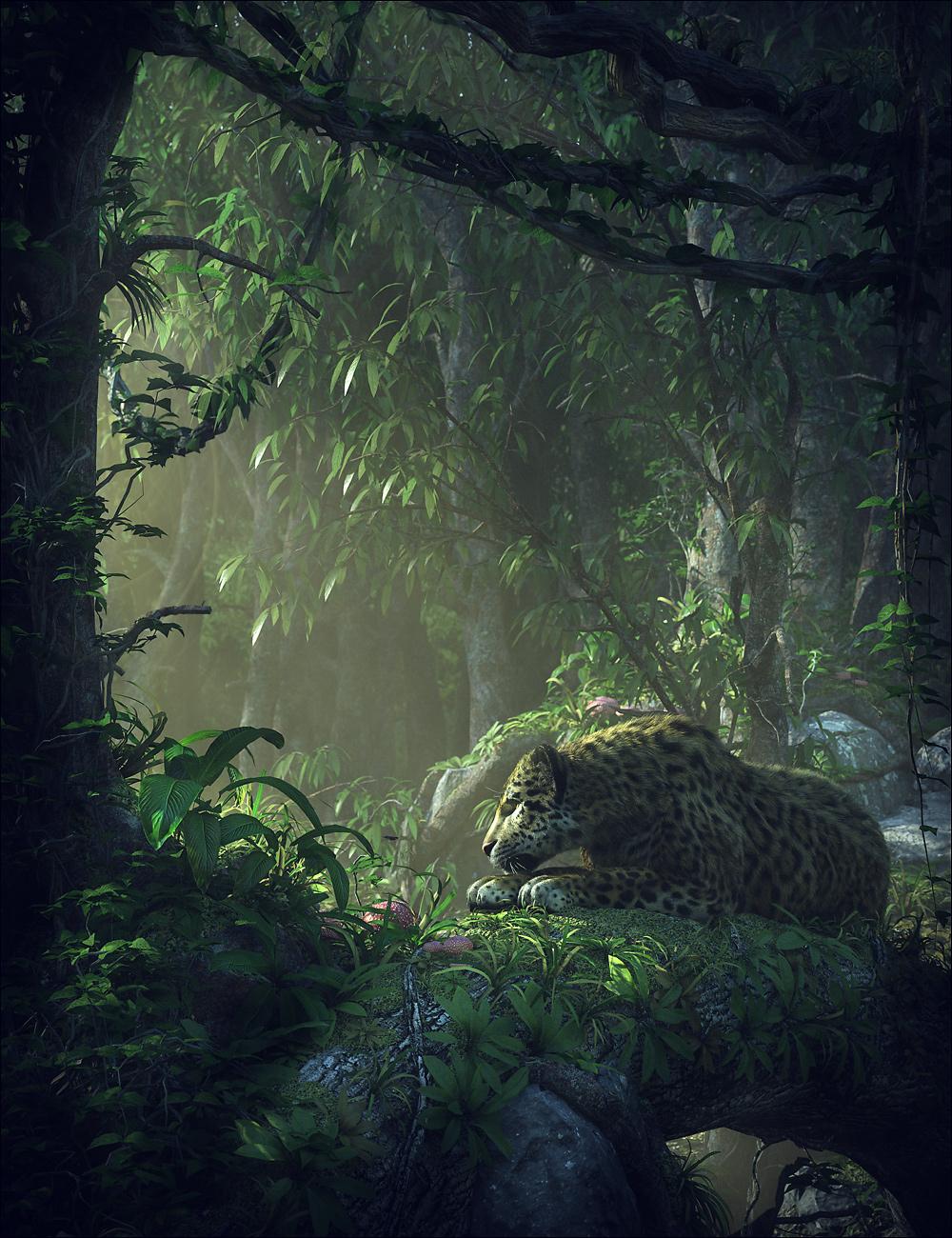 Jungle Construction Kit by: Stonemason, 3D Models by Daz 3D
