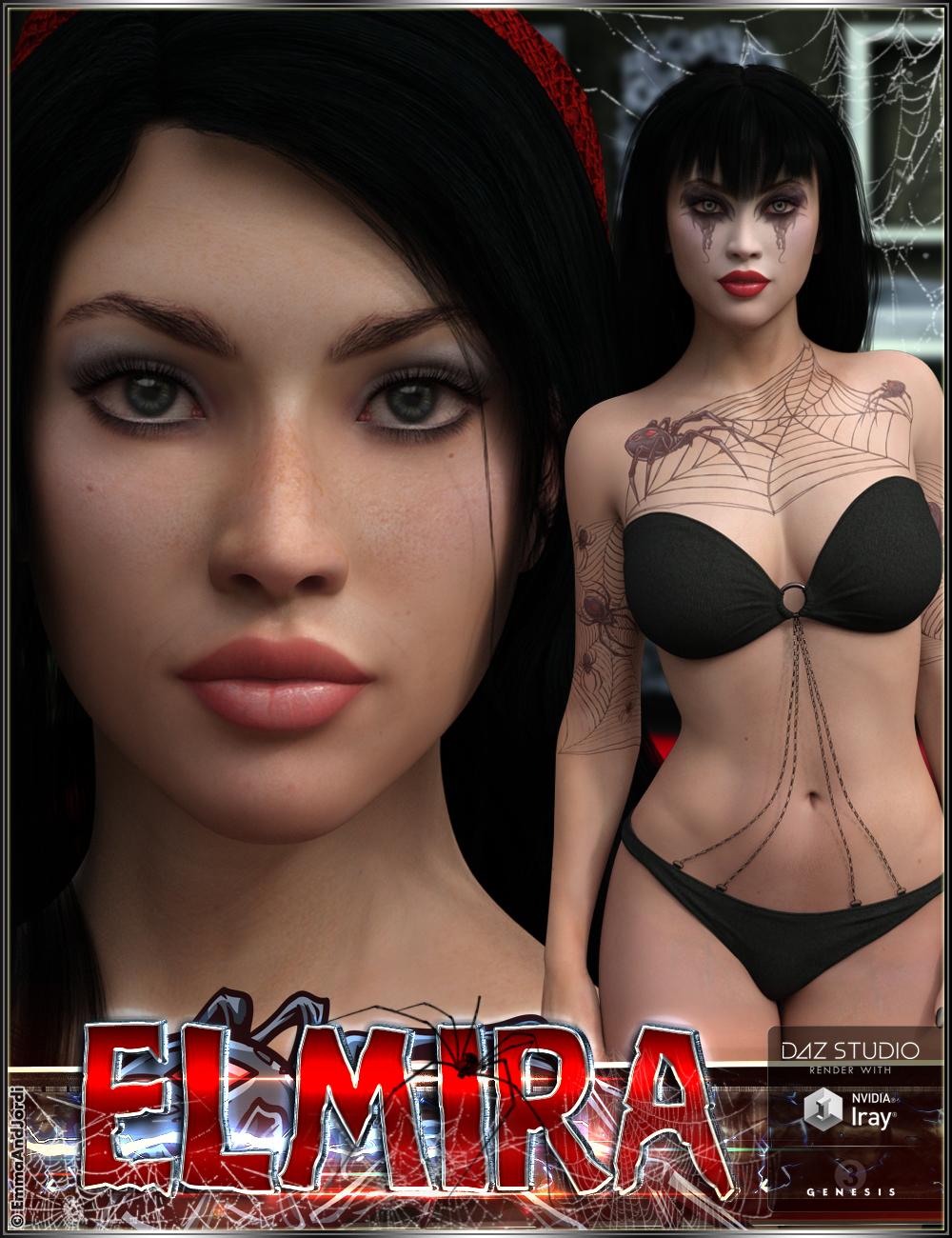 EJ Elmira for Genesis 3 Female(s) by: EmmaAndJordi, 3D Models by Daz 3D