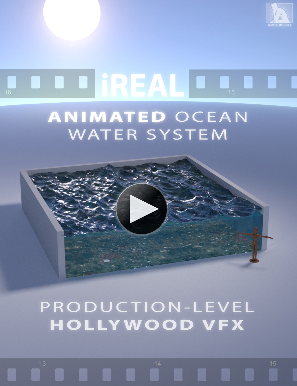 iREAL Animated Ocean Water System by: ThePhilosopher, 3D Models by Daz 3D