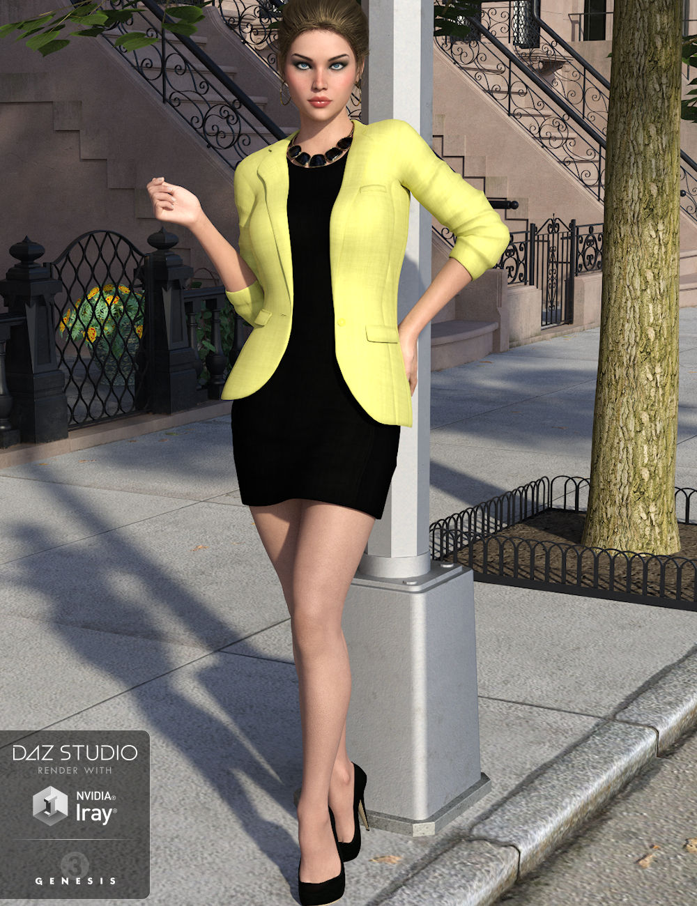 City Chic Too for Genesis 3 Female(s) by: WildDesigns, 3D Models by Daz 3D