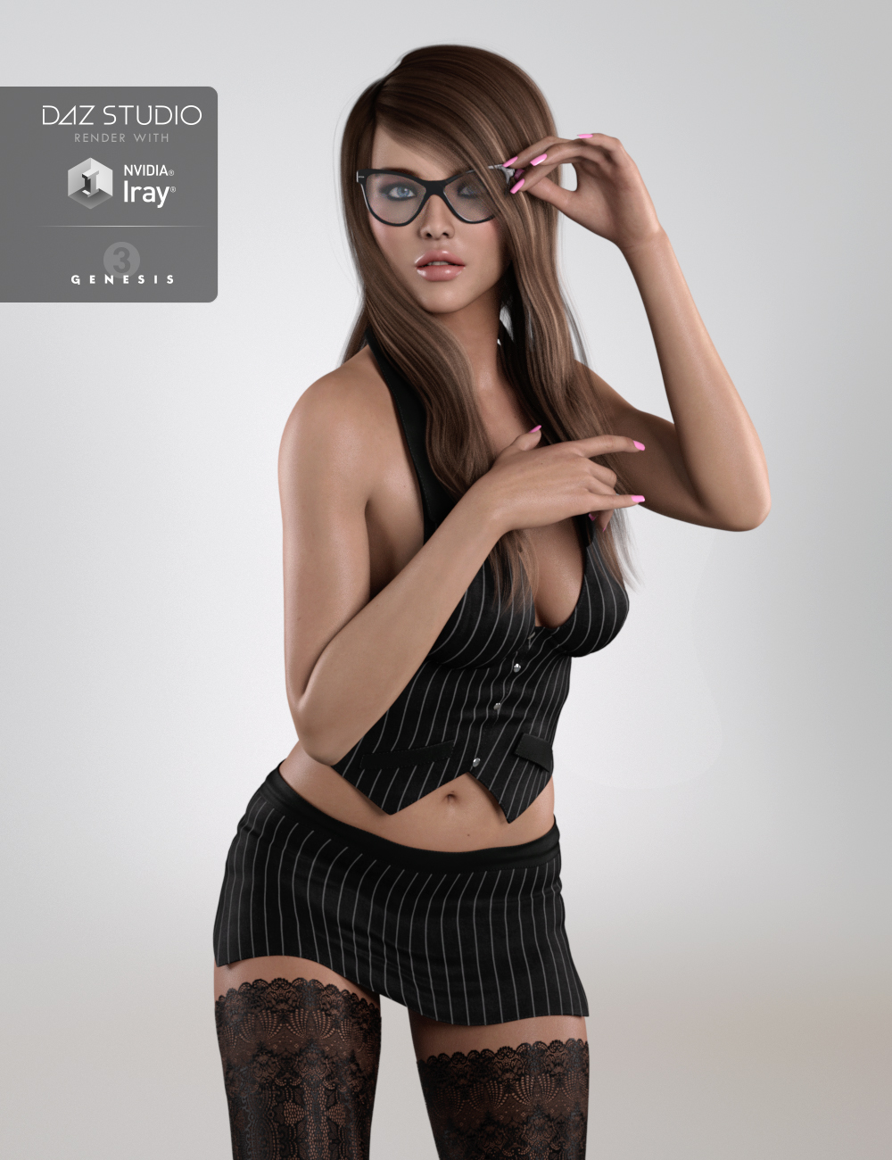 DT- Cindy for Genesis 3 Female(s) by: Digital Touch, 3D Models by Daz 3D
