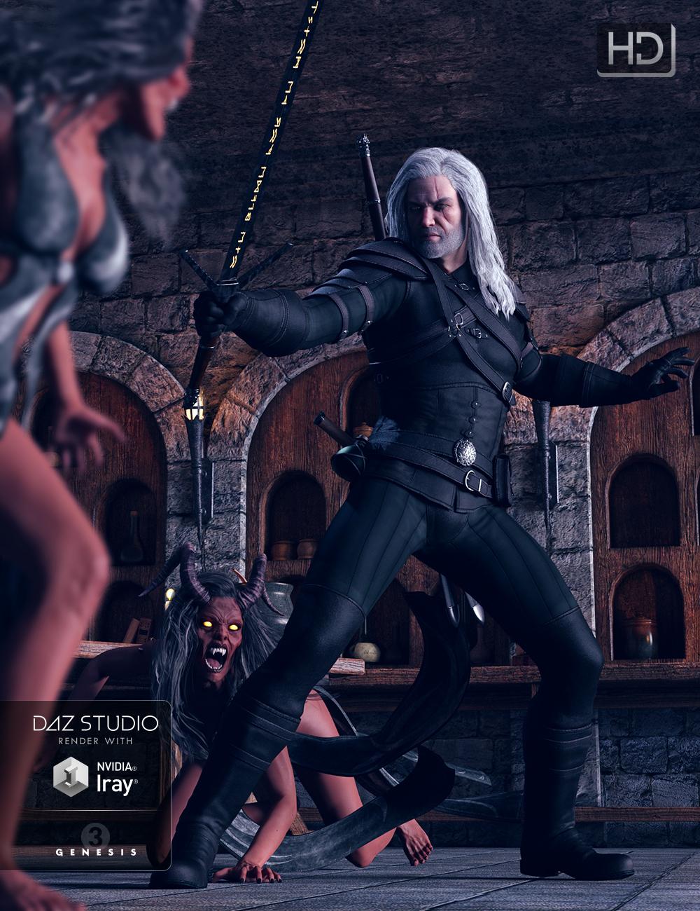 Hunter Gear for Genesis 3 Male(s) by: Kayleyss, 3D Models by Daz 3D