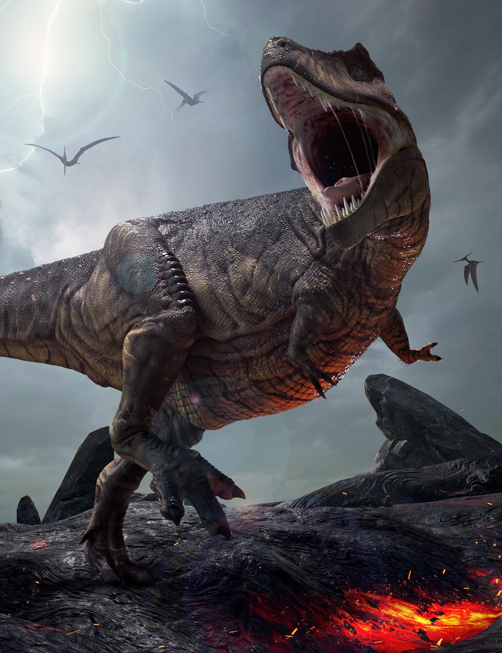 Tyrannosaurus Rex - Tyrant-Lizard King by: Herschel Hoffmeyer, 3D Models by Daz 3D