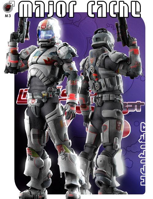 Major Cache by: Uzilite, 3D Models by Daz 3D