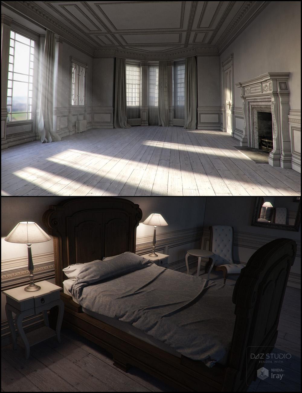 Rural Chateau Bundle Iray Addon by: Jack Tomalin, 3D Models by Daz 3D