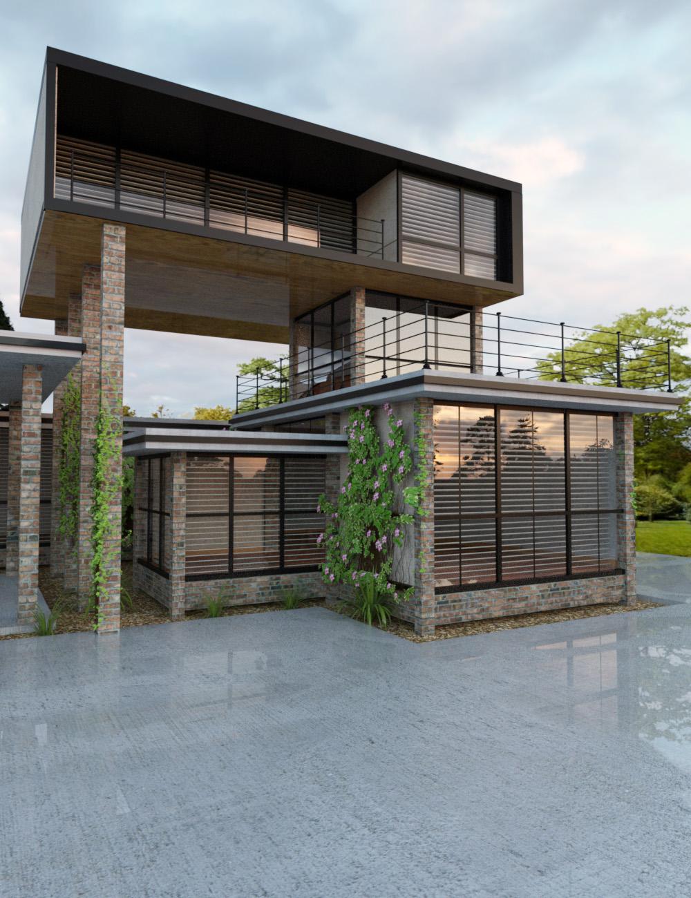 Modular Home Builder by: ImagineX, 3D Models by Daz 3D