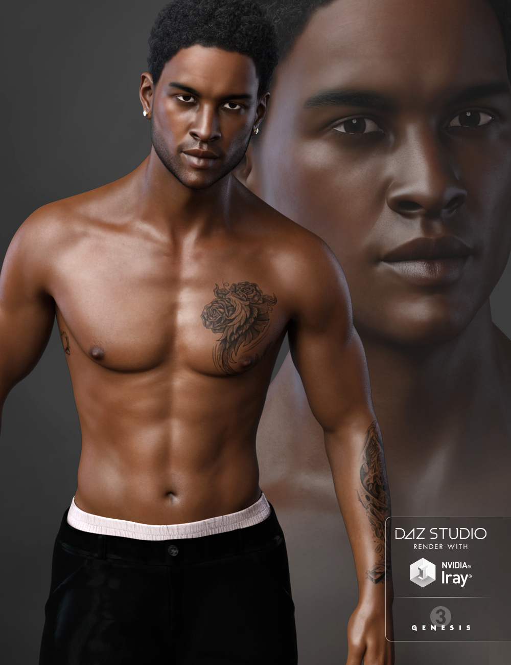 FW Raymond HD for Michael 7 by: Fred Winkler Art, 3D Models by Daz 3D