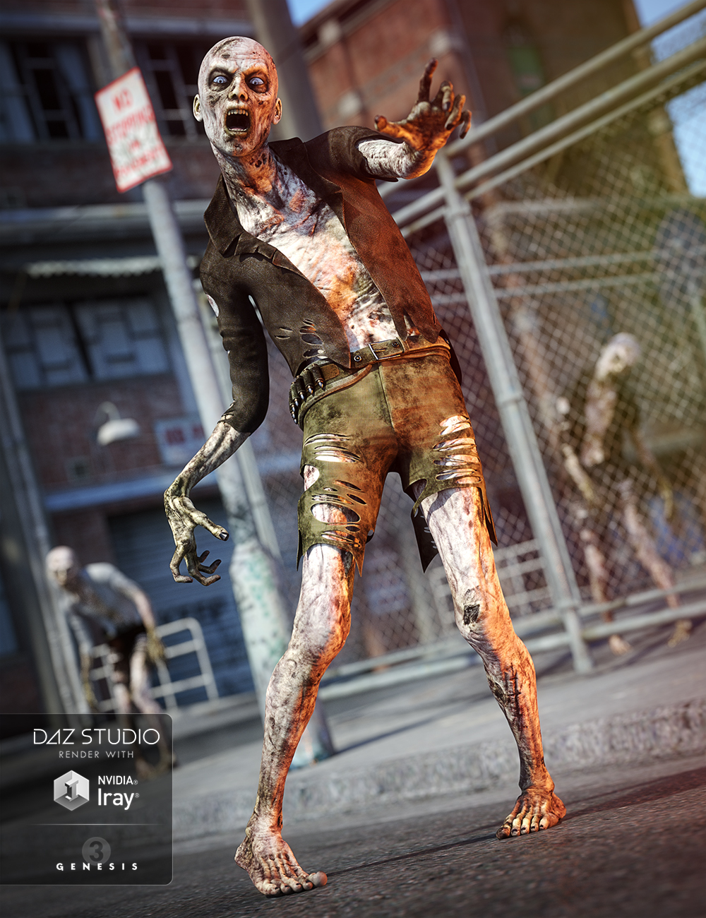 Survivor for Genesis 3 Male(s) by: Anna BenjaminMada, 3D Models by Daz 3D