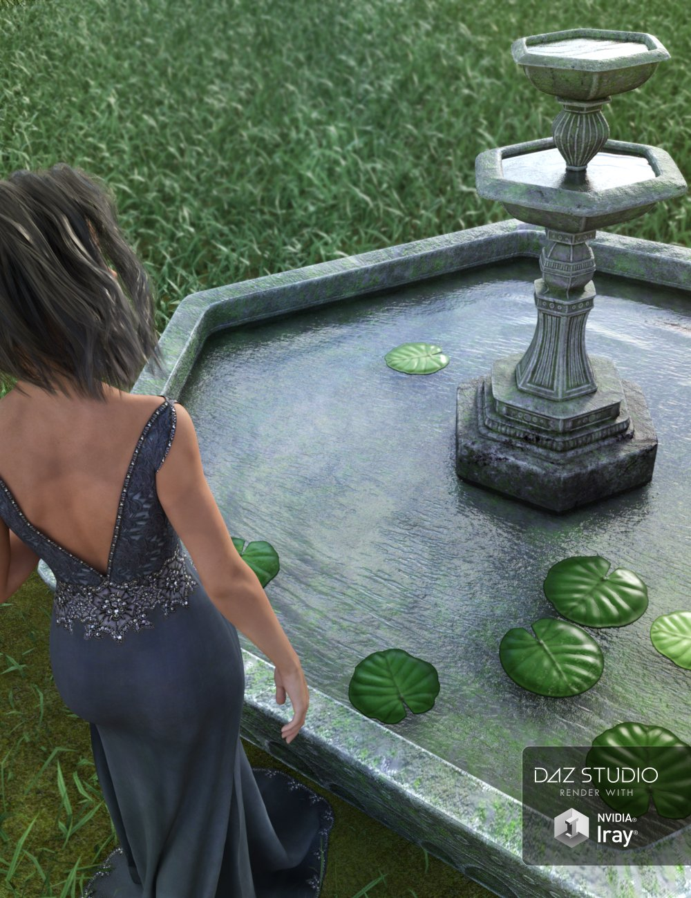 Wishful Thinking by: ARTCollab, 3D Models by Daz 3D