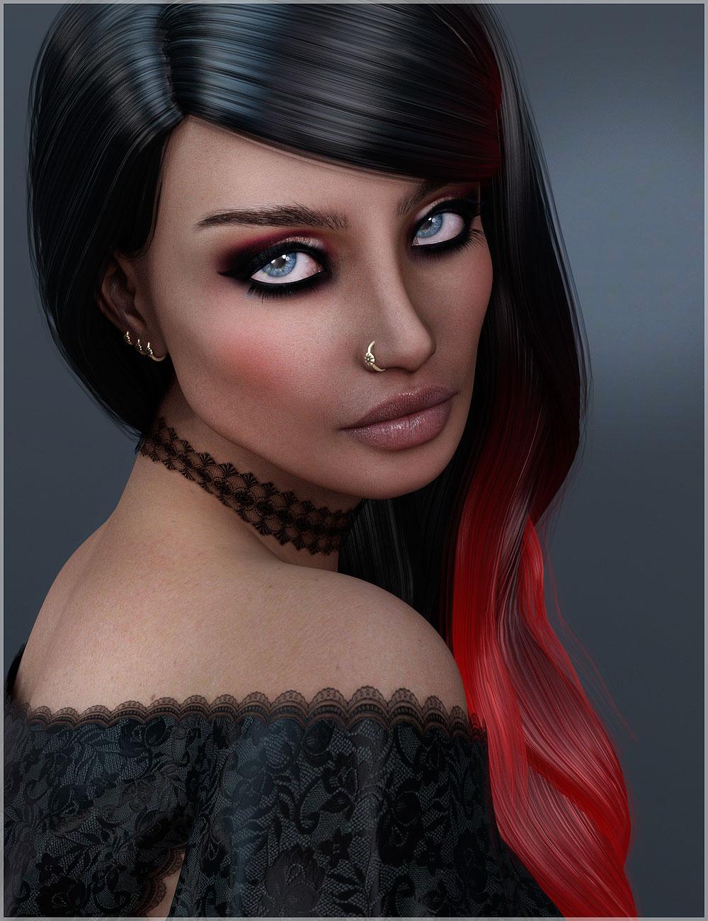 BD Nadira for Genesis 3 Female by: Belladzines, 3D Models by Daz 3D