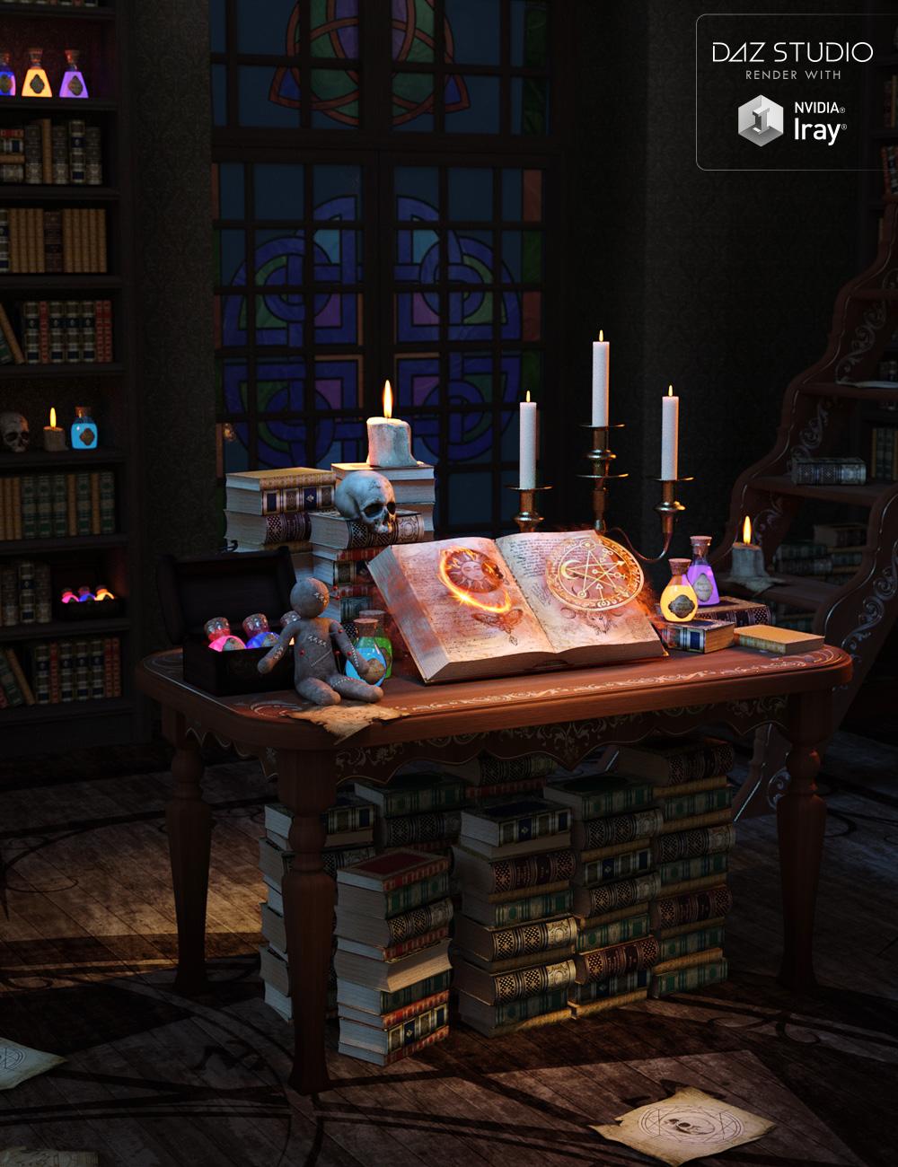 Mystic Spells by: LilflameSveva, 3D Models by Daz 3D