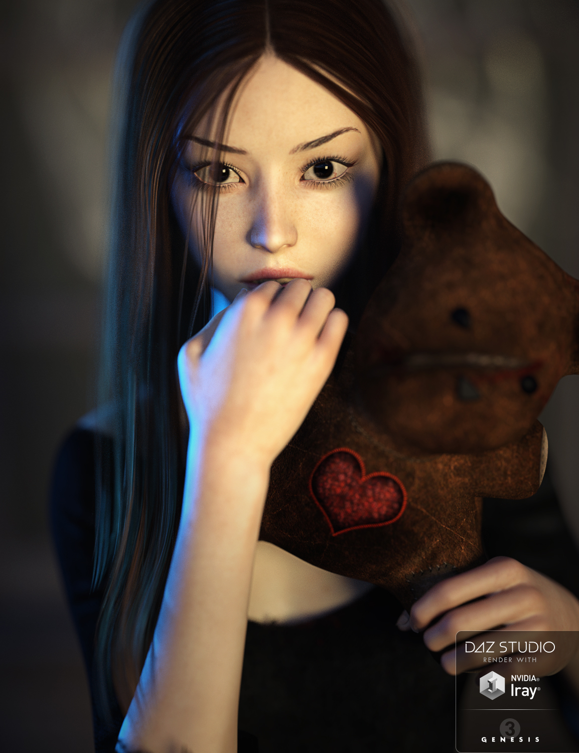 SC Rain for Genesis 3 Female by: Second-Circle, 3D Models by Daz 3D