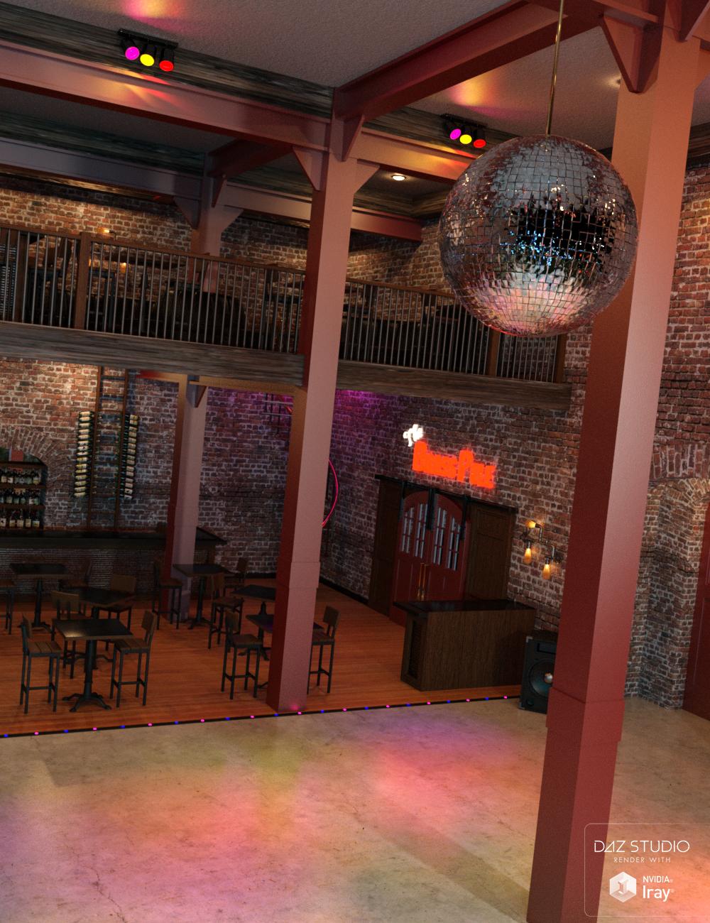 The Brass Pole Nightclub by: SloshWerks, 3D Models by Daz 3D