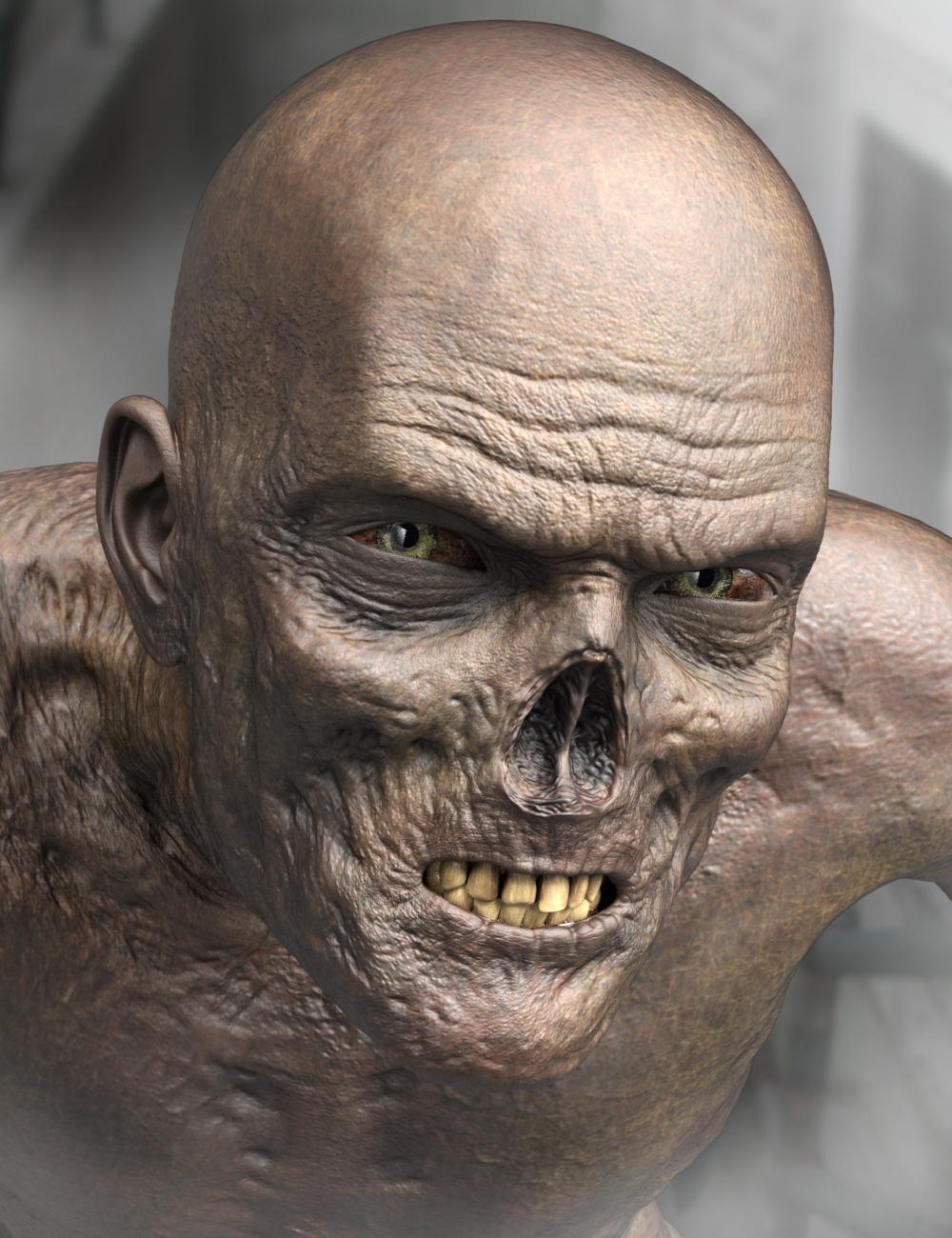 Ultimate Zombie for Genesis 3 Male by: Groovy Patrol, 3D Models by Daz 3D
