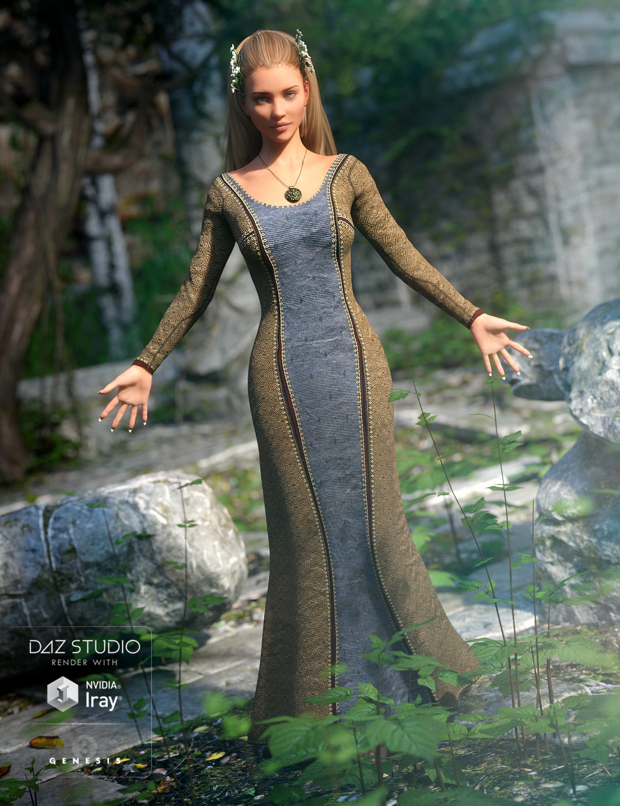 Sighni Outfit for Genesis 3 Female(s) by: JGreenleesMadaPoisenedLilySarsa, 3D Models by Daz 3D