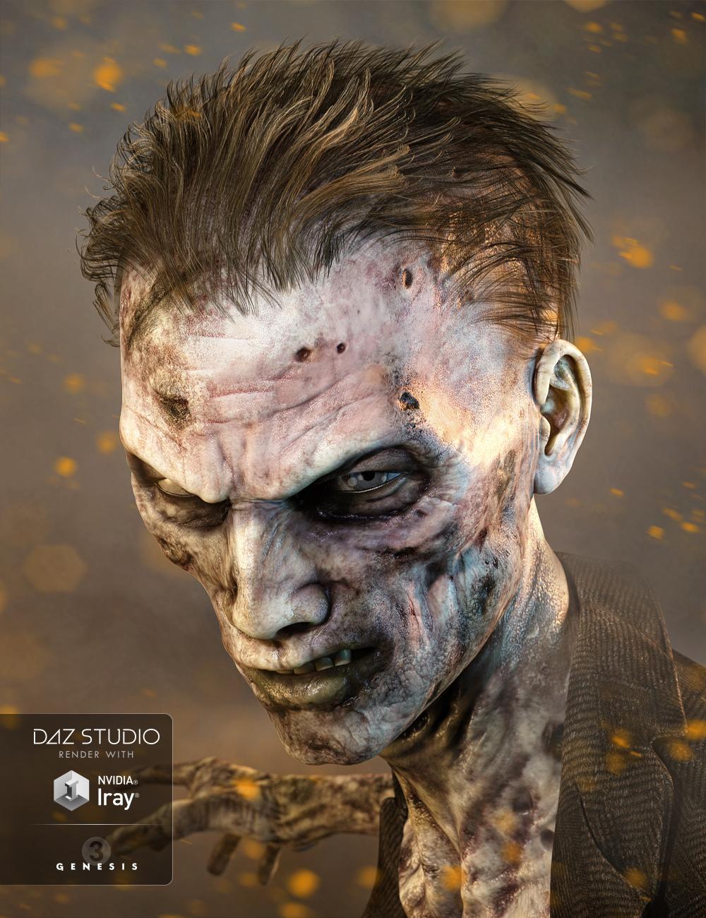 Markus Hair for Genesis 3 Male(s) by: goldtassel, 3D Models by Daz 3D
