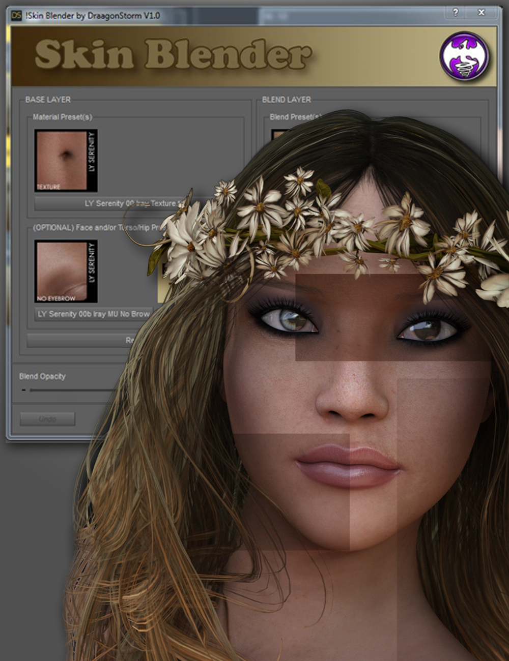 Skin Blender by: DraagonStorm, 3D Models by Daz 3D