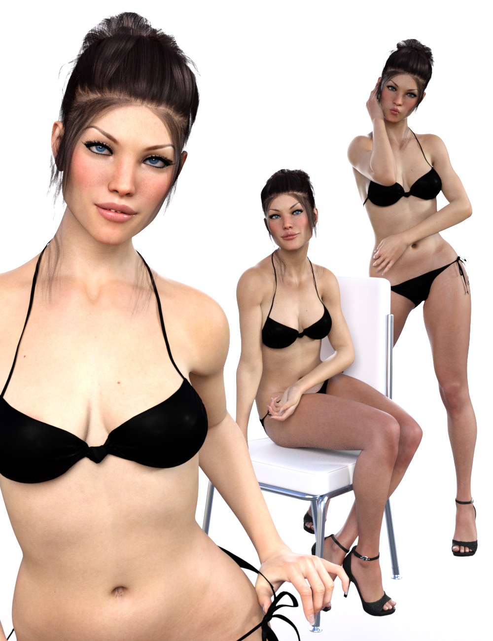 Elite Poses for Genesis 3 Female by: lunchlady, 3D Models by Daz 3D