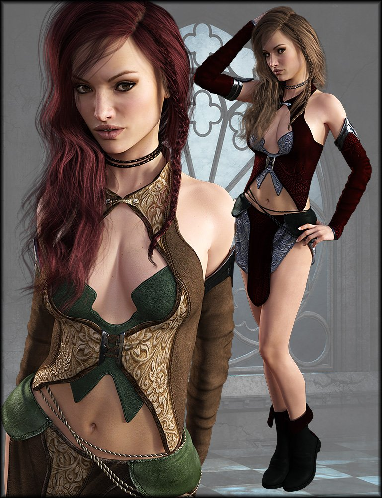 Innocent Witch Textures by: Shox-Design, 3D Models by Daz 3D