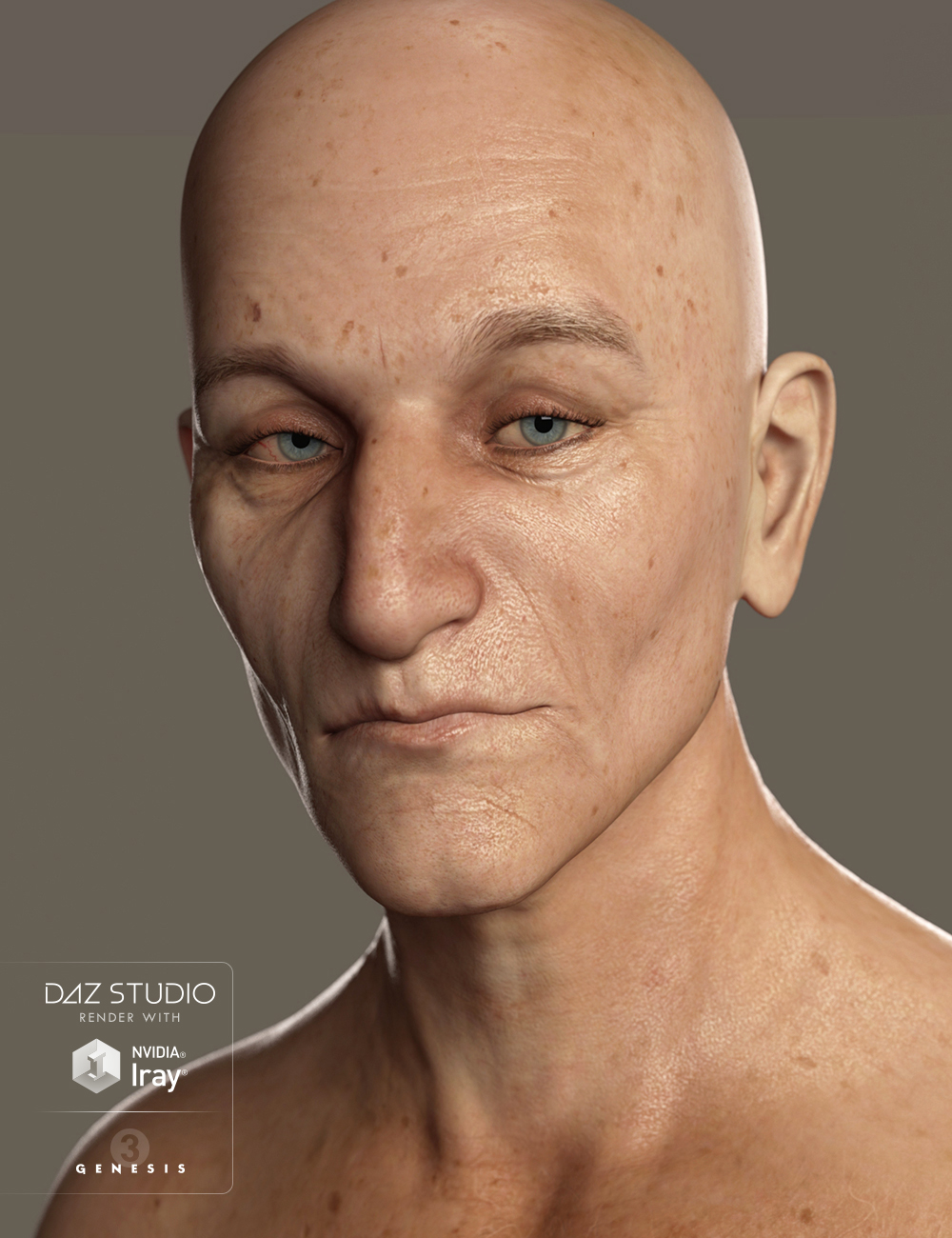 Abel for Genesis 3 Male by: Saiyaness, 3D Models by Daz 3D