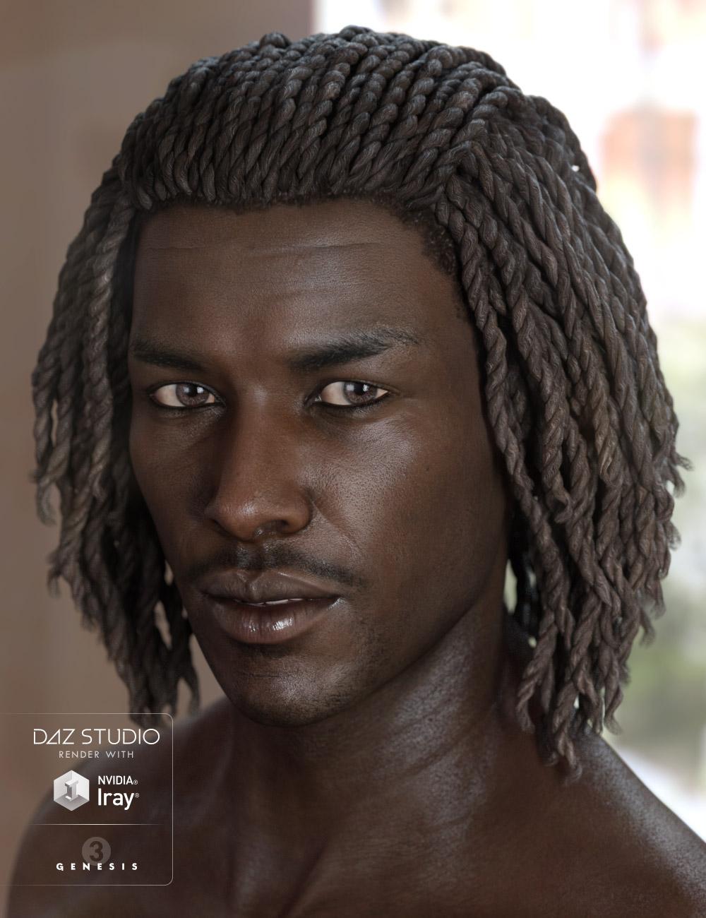 Diesel Hair for Genesis 3 Male(s) & Female(s) by: AprilYSH, 3D Models by Daz 3D