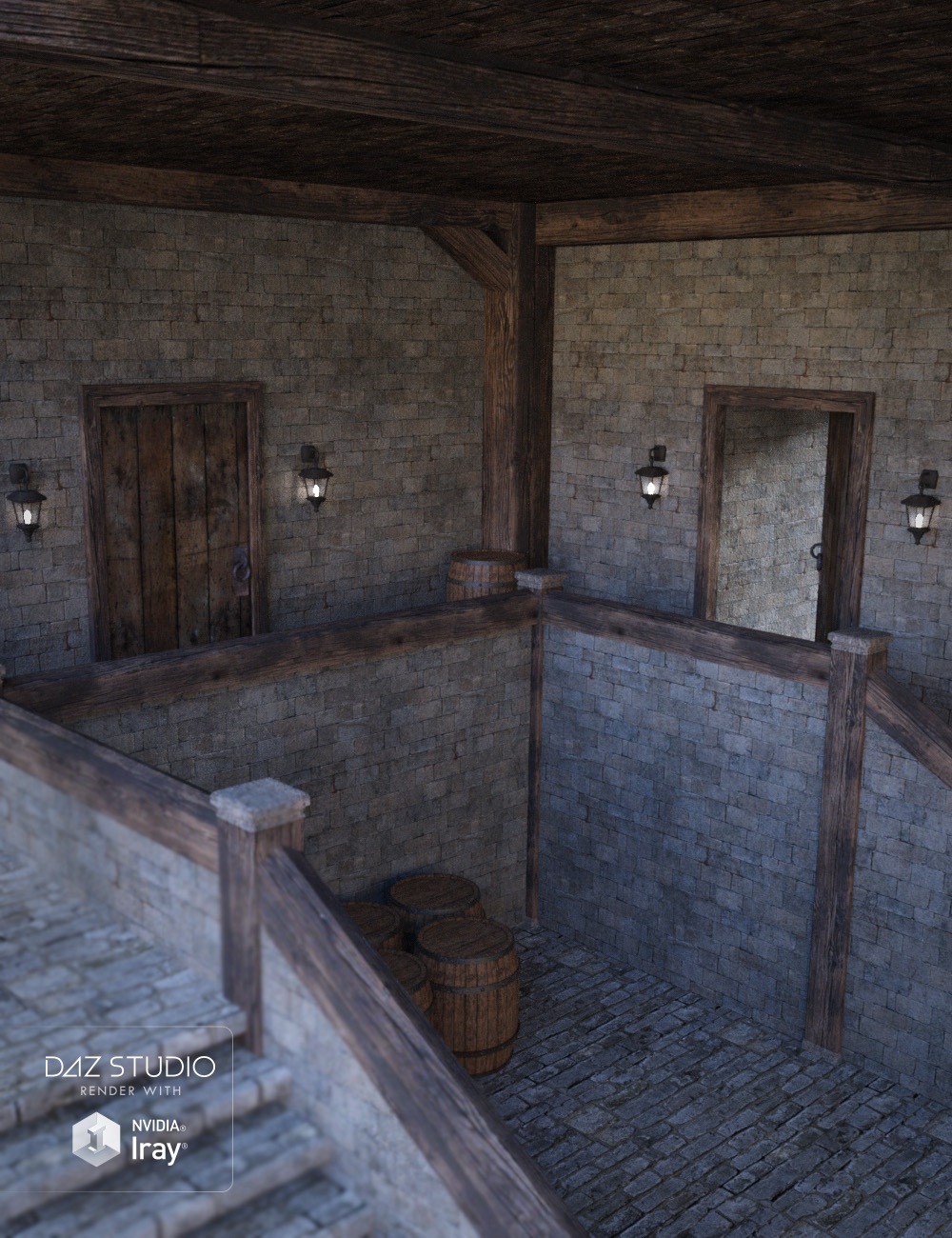Castle Interior 3d Models And 3d Software By Daz 3d