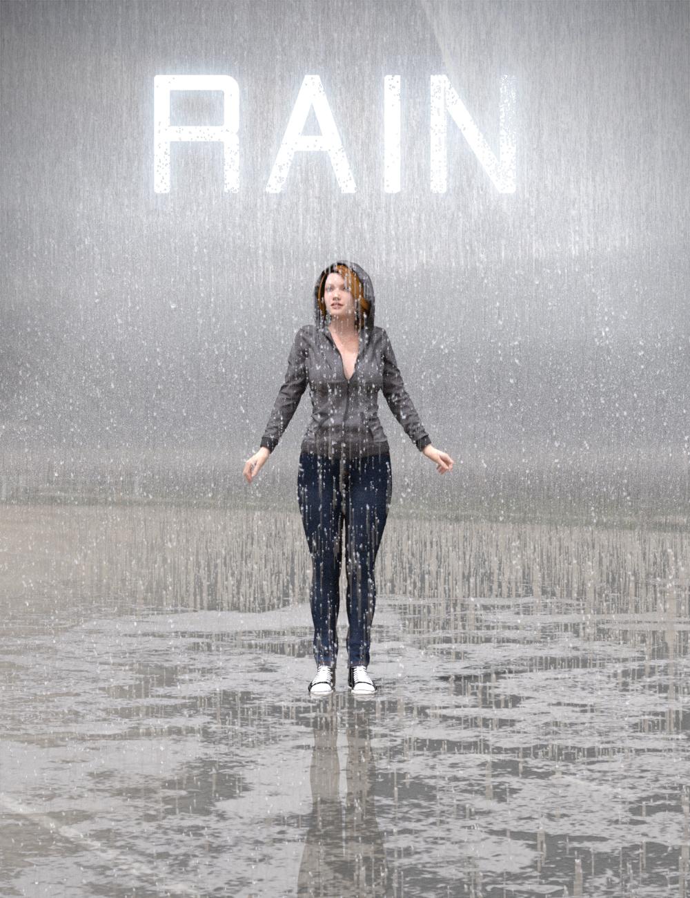 Iray Rain by: KindredArts, 3D Models by Daz 3D