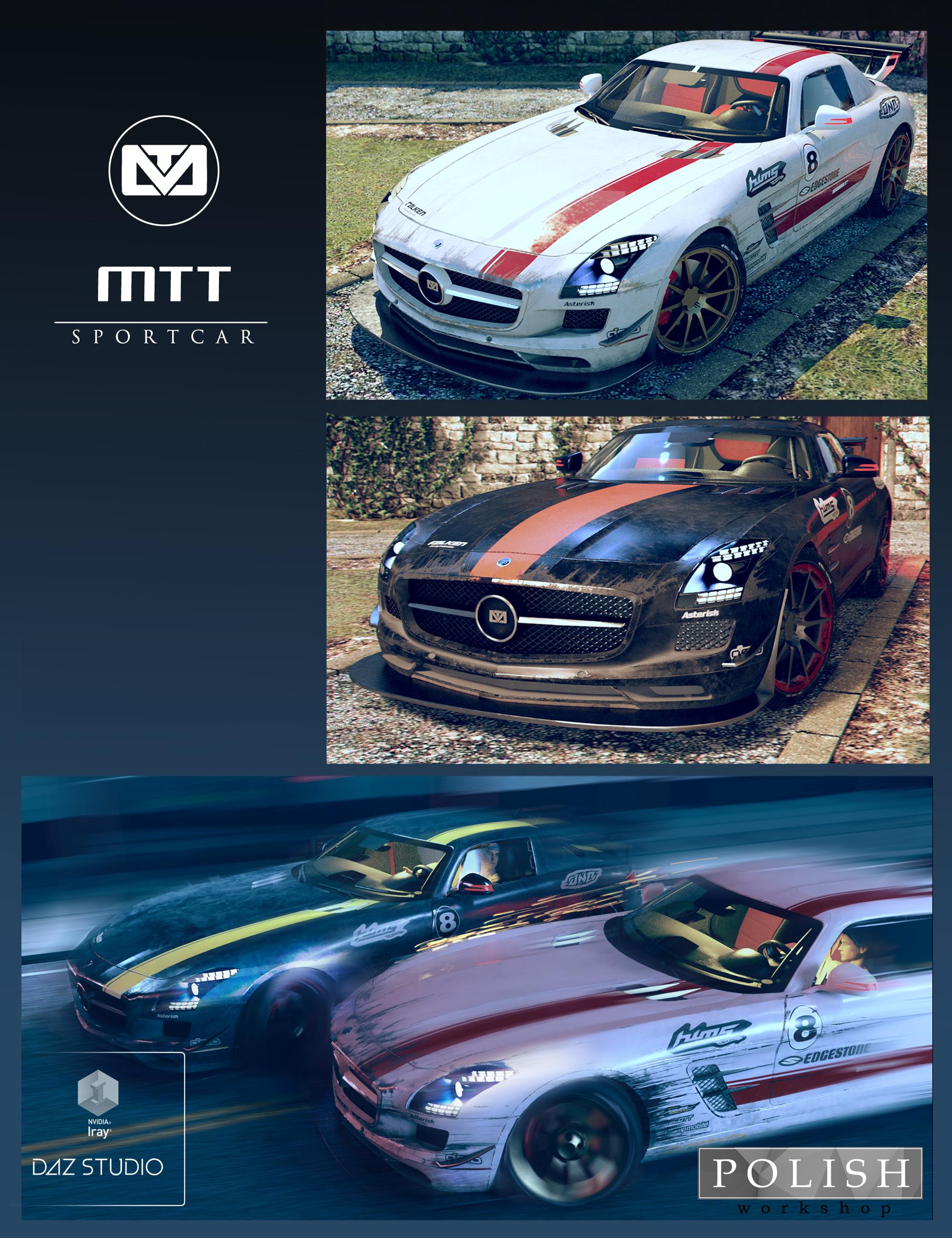 MTT Sportcar by: Polish, 3D Models by Daz 3D