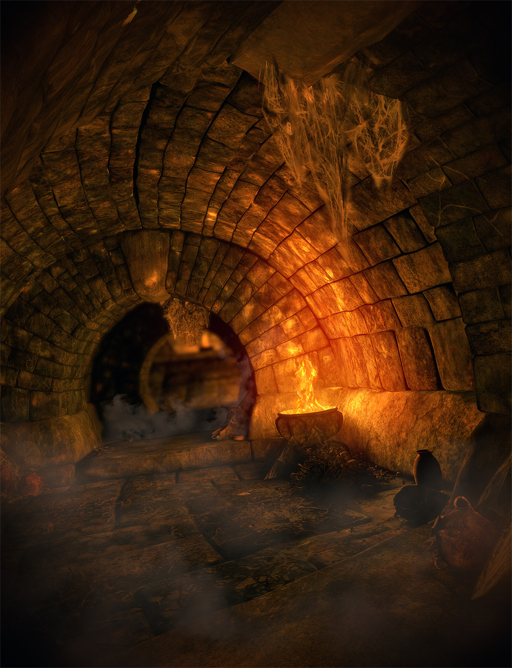 Hall of the Ancients by: Orestes Graphics, 3D Models by Daz 3D