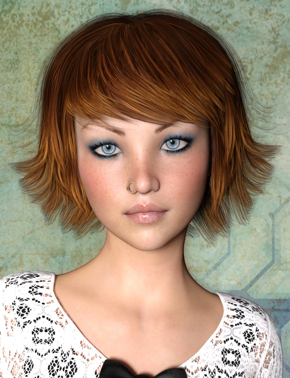 May Hair for Genesis 3 Female(s) by: SWAM, 3D Models by Daz 3D
