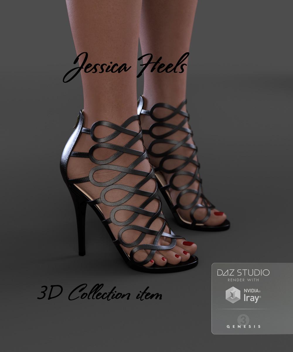 Jessica Heels for Genesis 3 Female(s) by: Arryn, 3D Models by Daz 3D