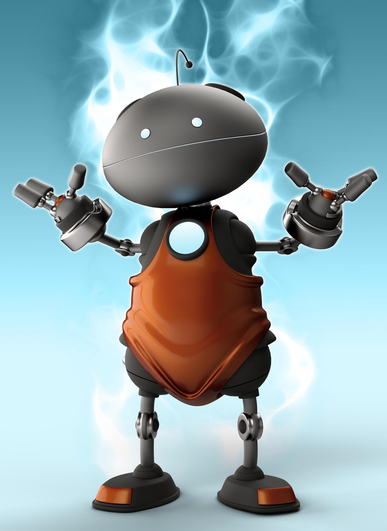 B-Bot by: The AntFarm, 3D Models by Daz 3D